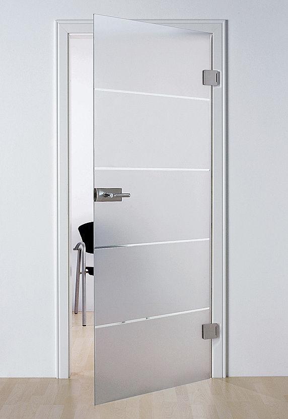 Puertas de cristal abatibles canvidres for Puertas madera y cristal interior