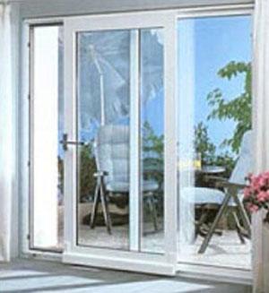 Ventanas y puerta de pvc correderas osciloparalelas - Puertas de exterior de pvc ...