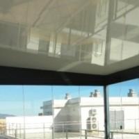 techo autoportante blanco