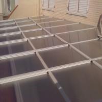 techo deslizante con policarbonato